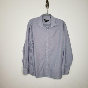 John Varvatos Star Printed Slim Fit Dress Shirt